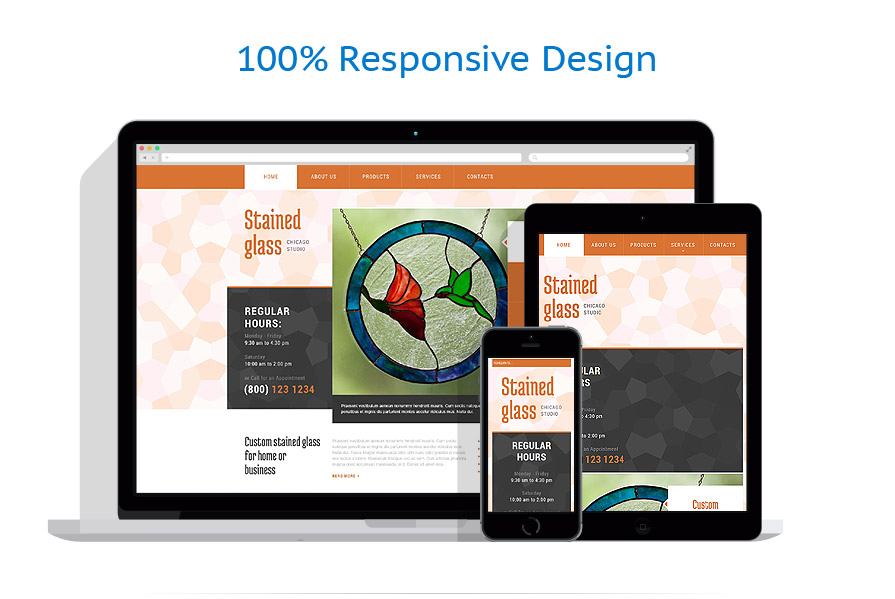Sablon responsive de | Design Interior & Mobila | ID: 842