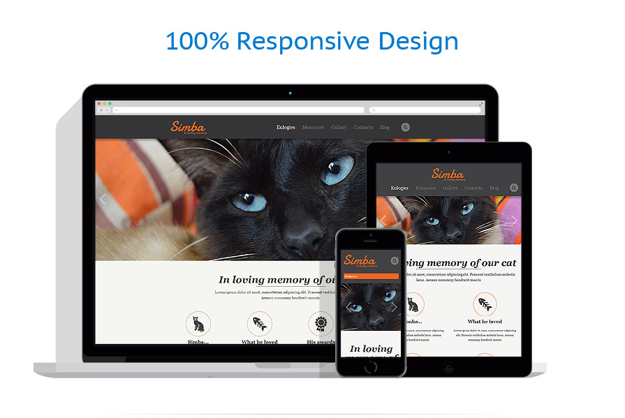 Sabloane responsive de website | Animale | ID: 843