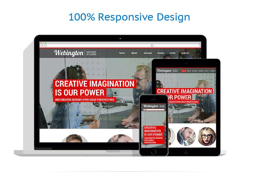 Sablon responsive de | Web design | ID: 865