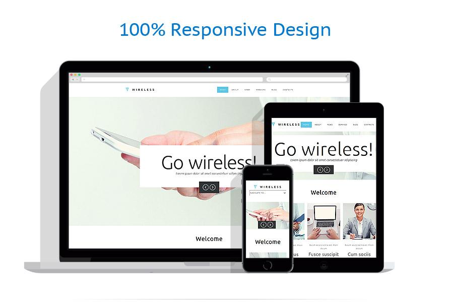 responsive template | Internet | ID: 867