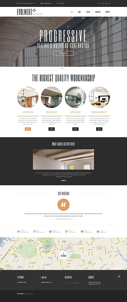 Sablon de | Arhitectura | ID: 875