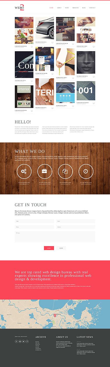 Sablon de | Web design | ID: 882