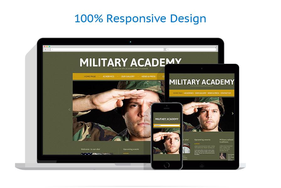 Sablon responsive de | Militar | ID: 950