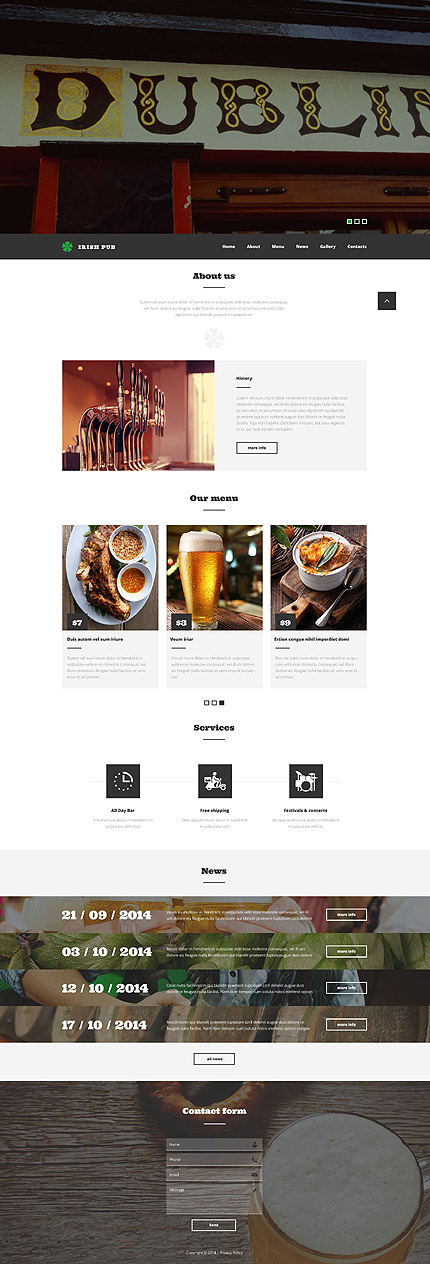 template | Brewery Templates