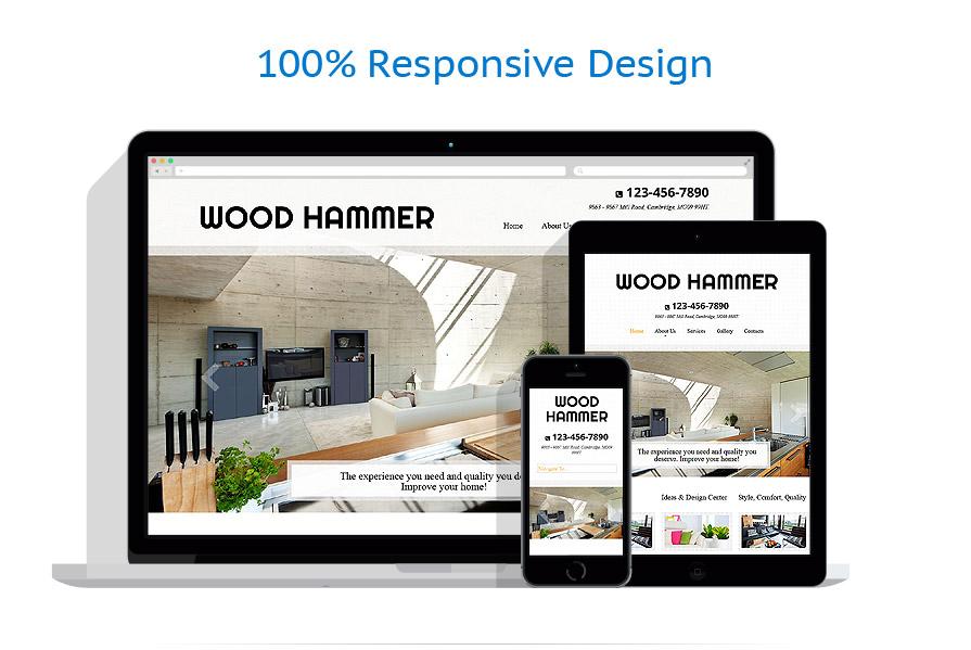 Sablon responsive de | Design Interior & Mobila | ID: 967