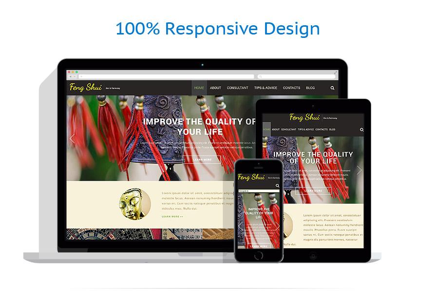 Sablon responsive de   Design Interior & Mobila   ID: 994