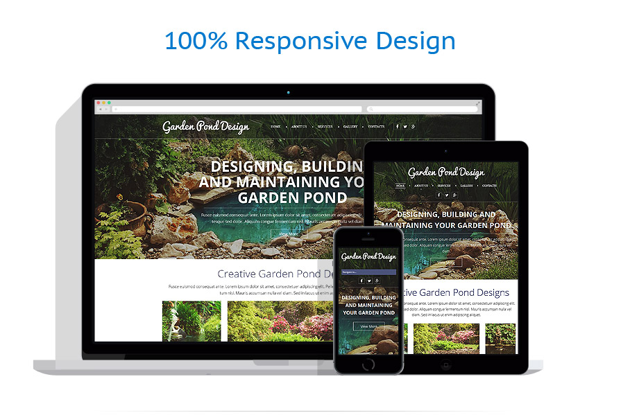 Sablon responsive de   Design Exterior   ID: 997